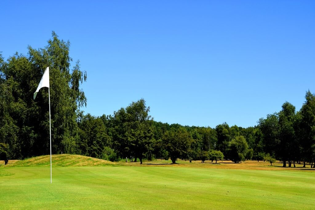 pole golfowe grębowo kcc